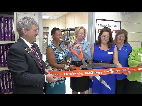 McCleskey's Food Pantry Opens