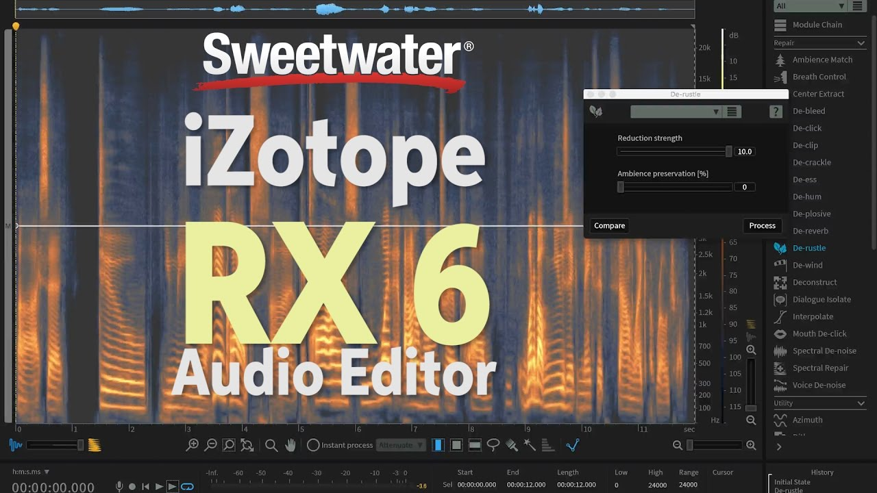 iZotope RX 6 Audio Editor Advanced Free Download