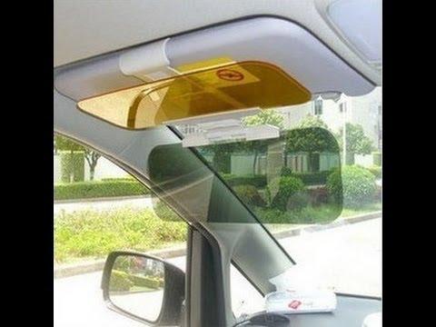 Авто КОЗЫРЕК солнцезащитный. Новинка года HD Vision Visor - YouTube