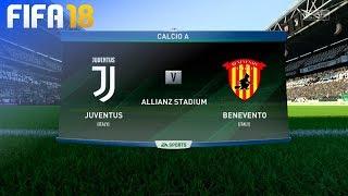 FIFA 18 - Juventus vs. Benevento @ Allianz Stadium