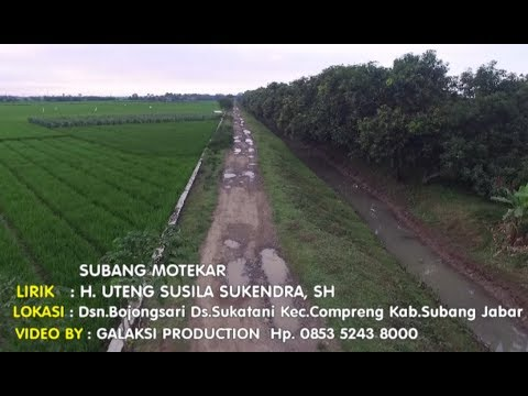 Cover # Subang Motekar - H. Uteng Susila Sukendra, SH
