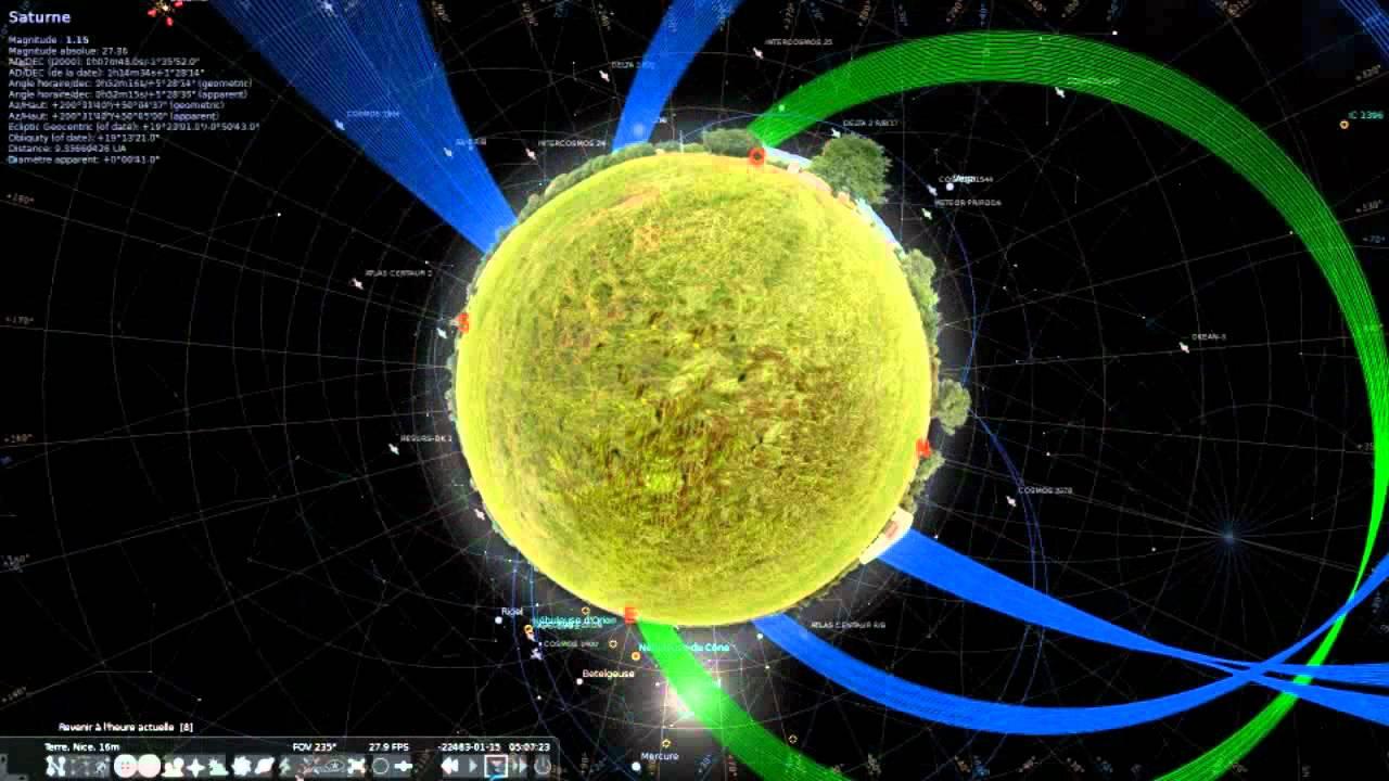 logiciel stellarium