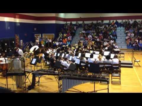 Grovetown Middle School Band Concert #2