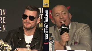 heated full ufc 217pre fight press conference bisping v gsp