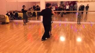 Tango class - Gustavo & Jesica - March 25 2015