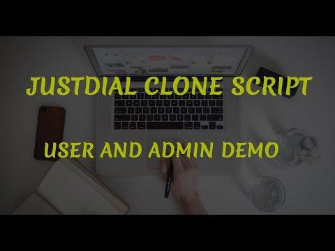 Justdial Clone Script | Company Listing Script