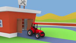 Fairy Tractors Compilation for Children | Bajki traktory kompilacja dla dzieci