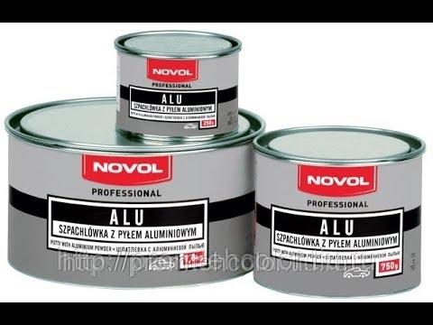 Ремонт пластика NOVOL Bumper fix / Шпатлевка по пластику - YouTube