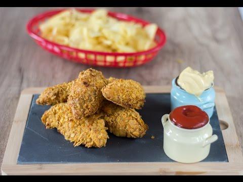 poulet-croustillant-دجاج-مقرمش