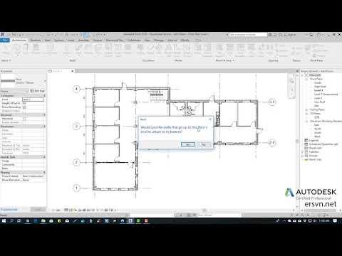 Hướng dẫn sử dụng Revit Architecture 2019 | Bài 44: Vẽ sàn trong Revit