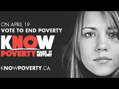 On April 19th, vote to end poverty
