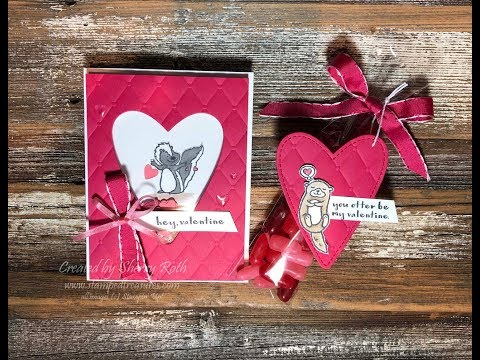 Create A Valentine's Day Shaker Card Using Stampin' Up!'s Hey Love Stamp Set