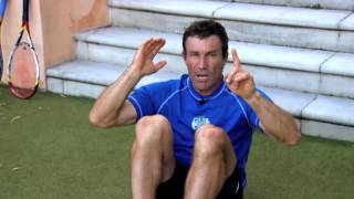 Advanced Tennis  Ab Workout | Pat Cash Fitness