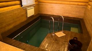 Укладка ПВХ плитки для пола в бассейне, бане, сауне.(, 2015-05-16T05:53:39.000Z)