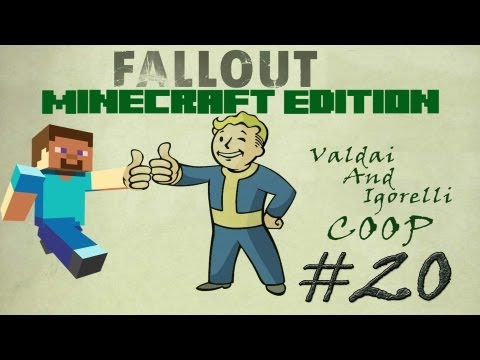 Смотреть прохождение игры [Coop] Minecraft Fallout Adventure. Серия 20 - Давай тут устроим оазис?