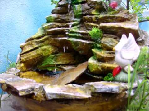 Peque as fuentes de agua feng shui jardines e interior - Donde colocar fuentes de agua segun feng shui ...