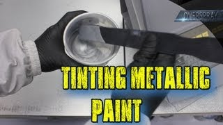 Adjusting Color and Tinting Metallic Paint