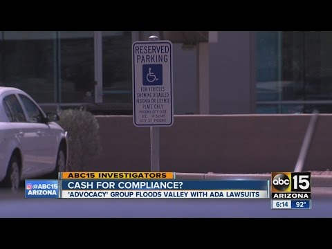 'Advocacy' group floods Valley with ADA lawsuits