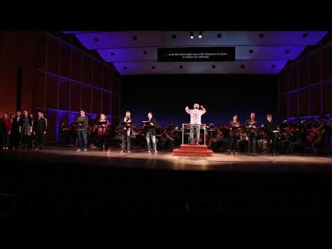 The Florentine Opera ensemble from Viva Opera rehearsals: Va, pensiero