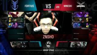 GPL Spring 2017 Group Stage Day 1 - FTS vs MSK