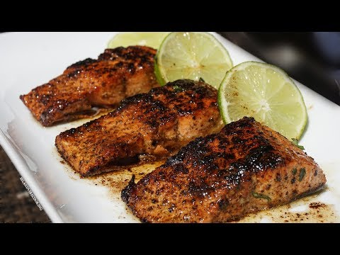 EASY BROWNED BUTTER LEMON PEPPER SALMON   Must Try this Tonight