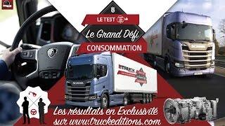 Truckeditions et Le Grand Défi SCANIA R 450