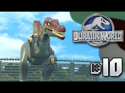 FULL JURASSIC PARK 3 SEGMENT!! Jurassic World LEGO Game - Ep10