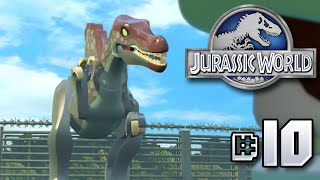 FULL JURASSIC PARK 3 SEGMENT!! Jurassic World LEGO Game - Ep10