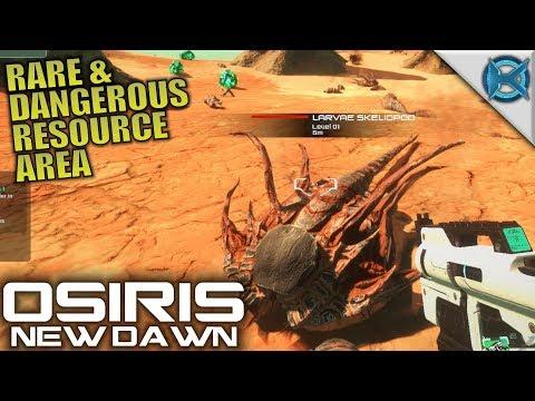 RARE & DANGEROUS RESOURCE AREA | Osiris: New Dawn | Let's Play Gameplay | S02E02