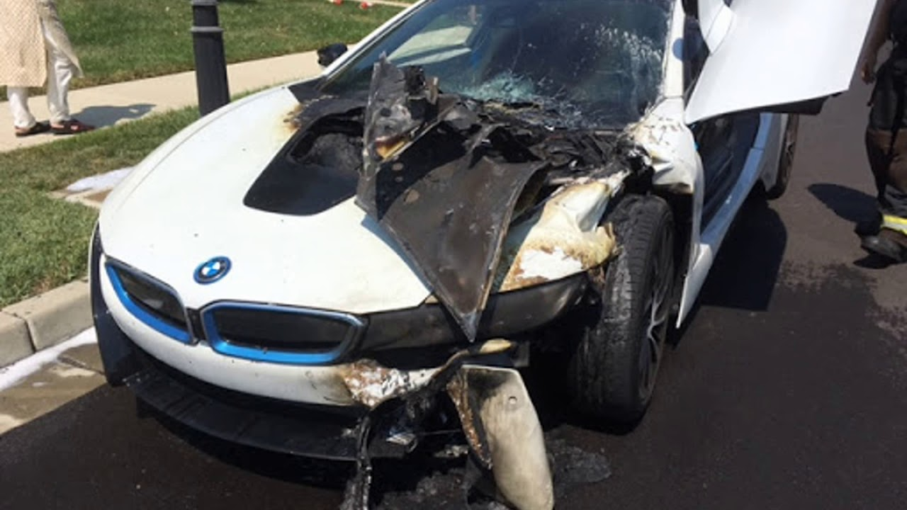 Bmw I8 After The Fire Youtube