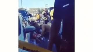 Nipsey Hussle shot dead crime scene #NipseyHussle #Dead #RIP #TMZ