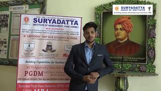 Akshay Jain – Suryadatta Group Of Institutes - Student Testimonial