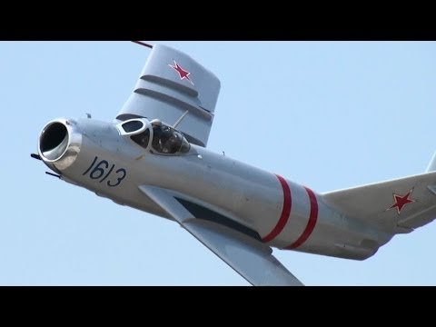 NAS Fort Worth Air Power Expo 2014 MiG-17