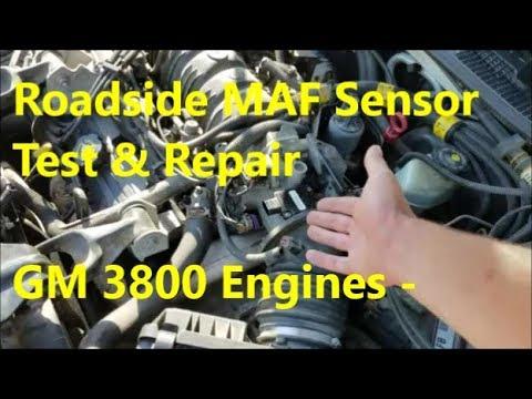 maf issues diagnosis troubleshoot repair 3800 engine pontiac rh youtube com