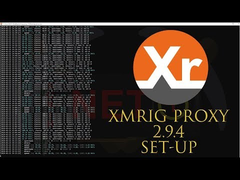 XMRig Proxy Set-up - Mining with multiple rigs to one mining pool