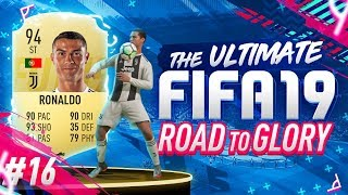 RONALDO JOINS THE ROAD TO GLORY!!! 4 HUGE ICON SNIPES - RTG EP16