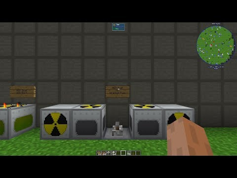 IndustrialCraft 2 Nuclear Reactor Tutorial! [for Minecraft 1.12.2]