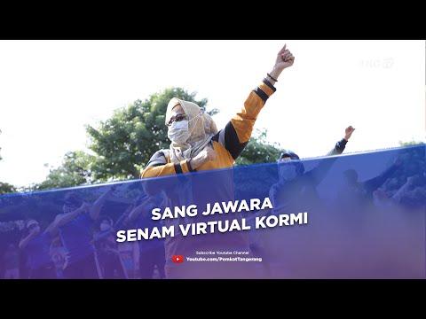 Juwara Senam Virtual Komite Olahraga Rekreasi-Masyarakat Indonesia