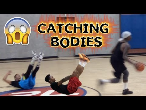 Bone Collector Drains 8 Three-Pointers and Catches Bodies! North Hollywood California