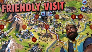 Friendly Neighborhood Visit - Mali [#8] - Civilization VI Gathering Storm
