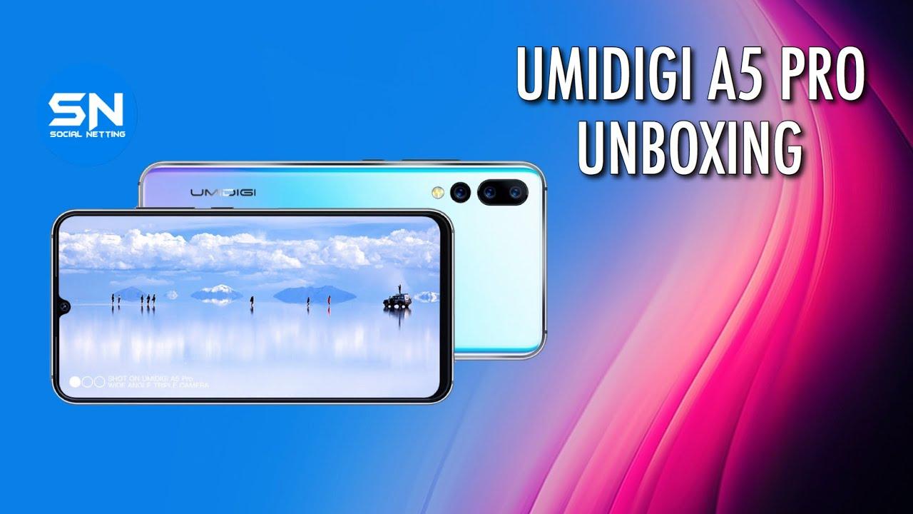 Umidigi A5 Pro Portugues - Unboxing