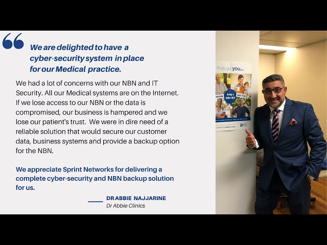 Best cyber-security solution for SMBs from Sprint Networks