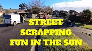Street Scrapping Great Day for Electronics in Hard Rubbish