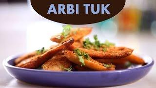 Arbi Tuk (Kachalu) Recipe in Sindhi By Veena Gidwani | Simply Sindhi Recipe
