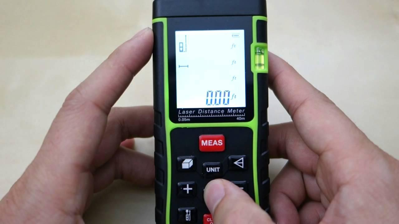 Tacklife Laser Entfernungsmesser Bedienungsanleitung : Tacklife laser distance meter review youtube