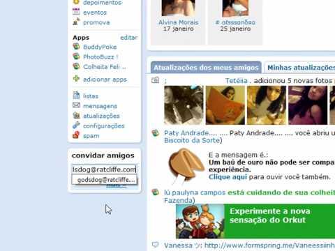 hacker Peter:como apagar o orkut de uma Pessoa