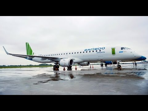 #Embraer #E195 now flies in VIETNAM for BAMBOO AIRWAYS