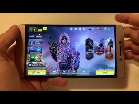 Call Of Duty Mobile - LeEco Le Max 2   High Settings