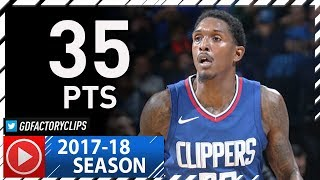 Lou Williams Full Highlights vs Thunder (2017.11.10) - 35 Pts off the Bench!