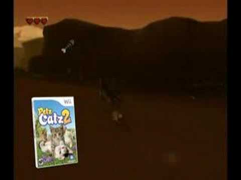 Petz Catz 2, Dogz 2, and Horsez 2 - Wii Trailer